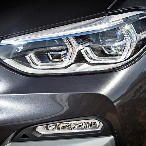 BMW X3 2018, Scheinwerfer, Front