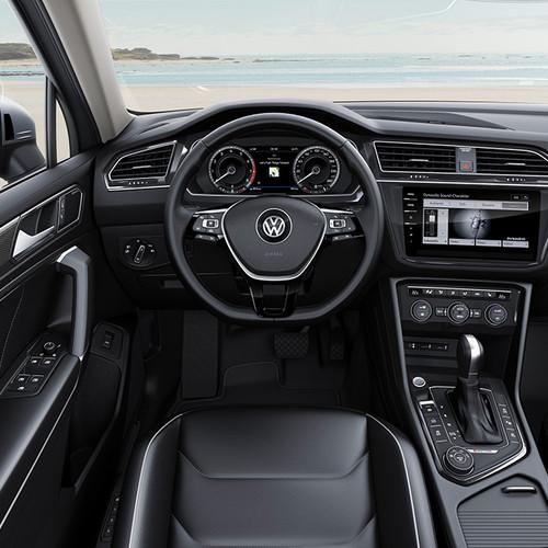 VW Tiguan Allspace Innenraum