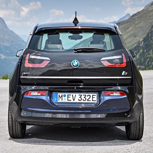 BMW i3 2018 Facelift Heckansicht