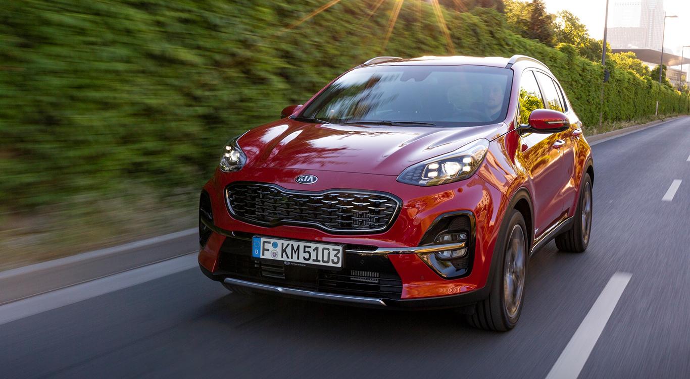 Verkaufsschlager und Konzernbruder des beliebten Hyundai Tucson: KIA Sportage.