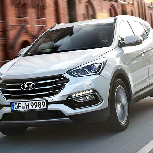 Hyundai Santa Fe 2017 Fahraufnahme Front