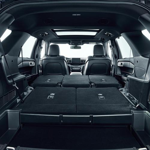 Ford Explorer 2019, Kofferraum, Innenraum