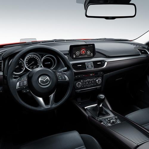 Mazda CX-5, Innenansicht, Cockpit 2
