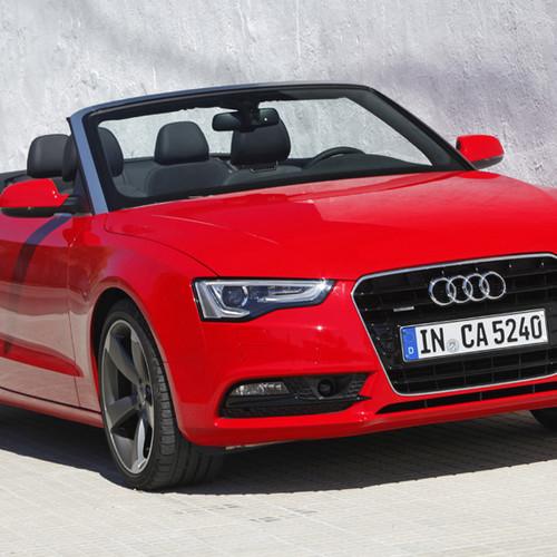 Das Audi A5 Cabrio nach dem Facelift