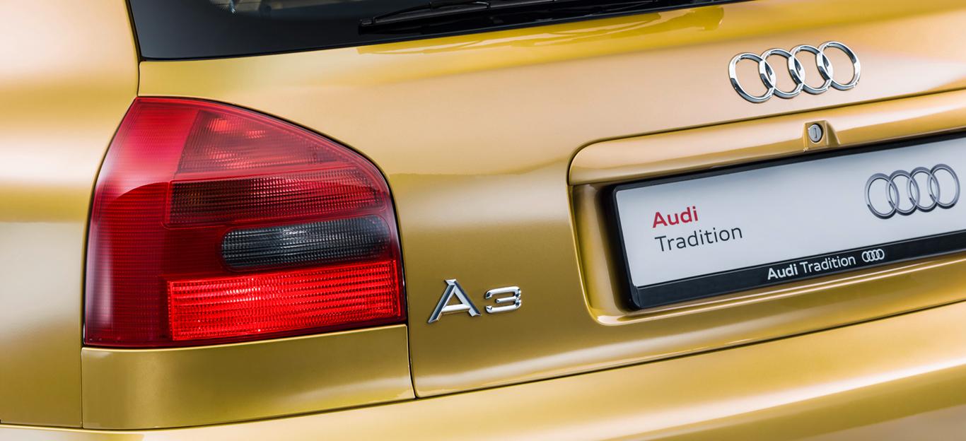 Detailansicht des Audi A3