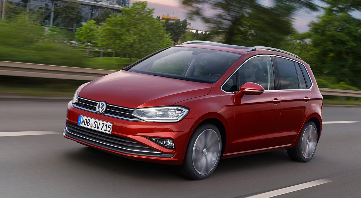 Der VW Golf Sportsvan.