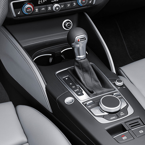 Audi A3 Sportback, Innenansicht, Schalthebel