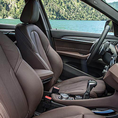 BMW X1, Cockpit Sitze