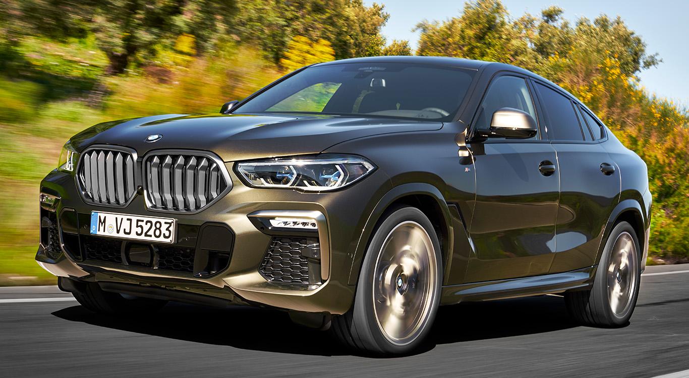 Im November dieses Jahres schickt BMW die dritte Generation des SUV-Coupés X6 ins Rennen.