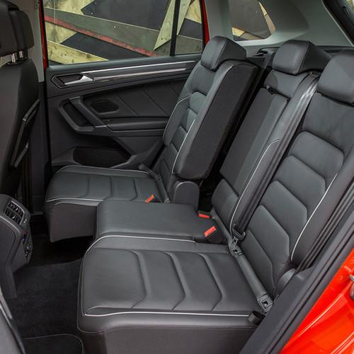 VW Tiguan, Innenansicht, Fond