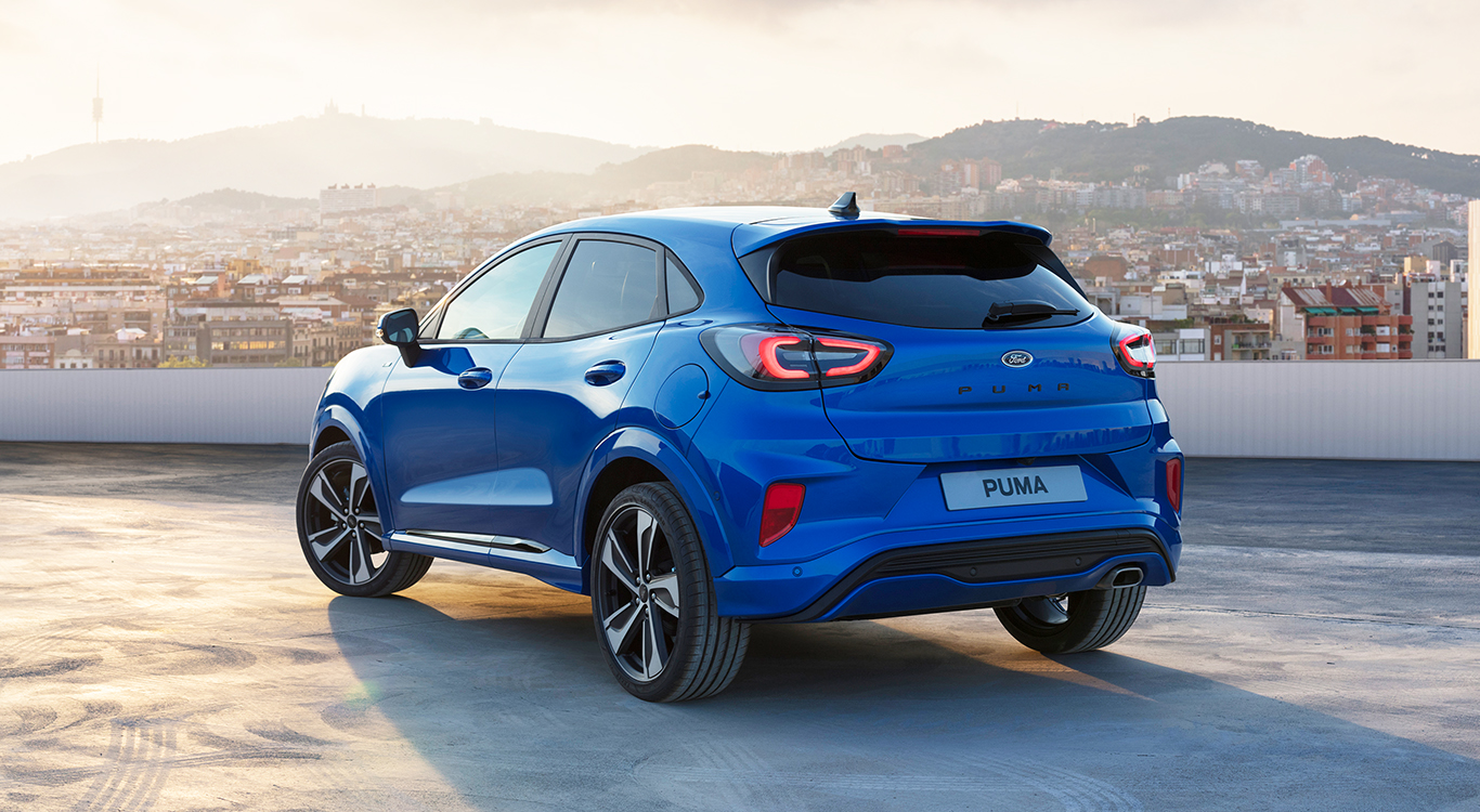 Die dynamische Neuauflage des Ford Puma ist ab dem vierten Quartal 2019 bestellbar.
