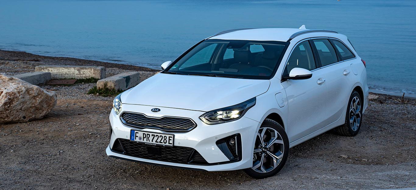 Auch der Kia Ceed Sportswagon Plug-in Hybrid erlebt seinen Marktstart im März 2020.