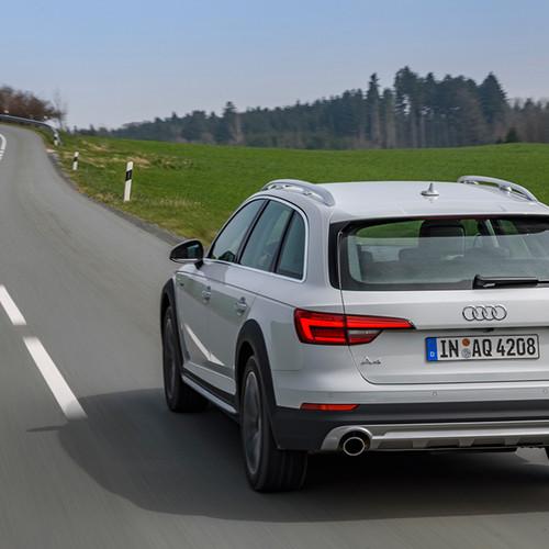 Rückansicht des Audi A4 Allroad Quattro