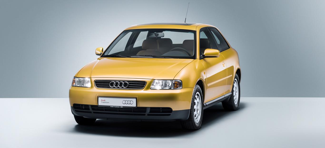 Halbseitenansicht des Audi A3 8L