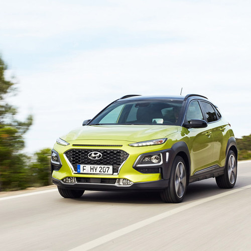 Hyundai Kona Fahraufnahme Front