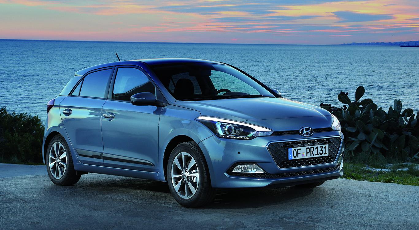 Der Hyundai i20.