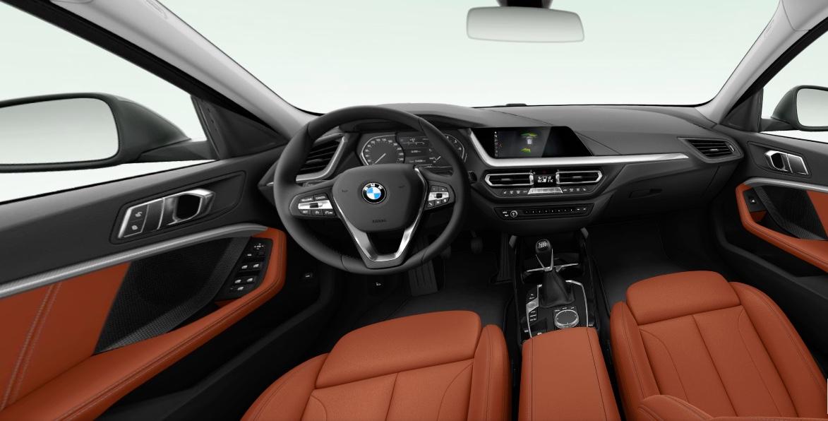 Innenansicht des BMW 1er.