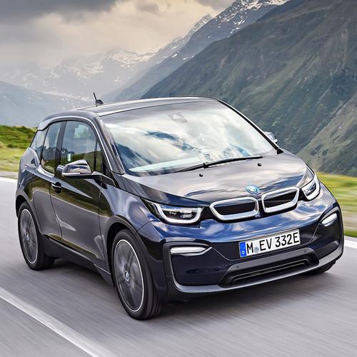 BMW i3 2018 Facelift Fahraufnahme Front