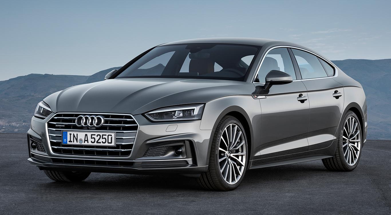 Audi A5 Sportback mit S line-Exterieur.