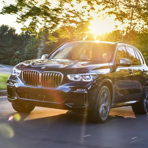 BMW X5 2019, Frontansicht, dunkel