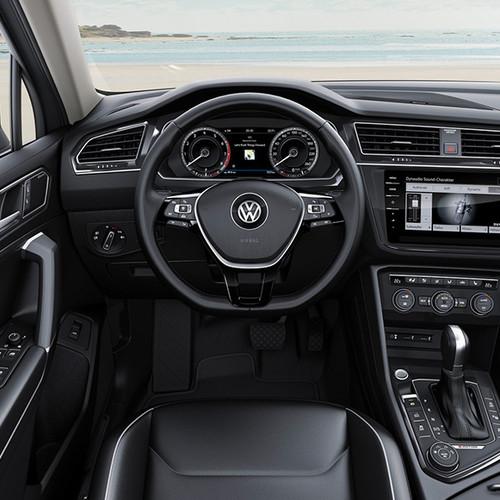 VW Tiguan Allspace, Innenansicht, Cockpit