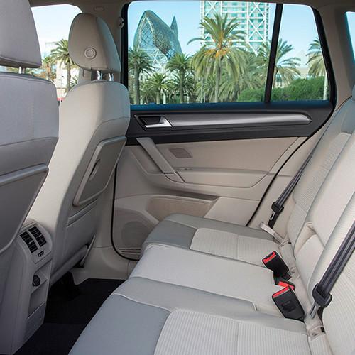 VW Golf Sportsvan, Fond-Ansicht