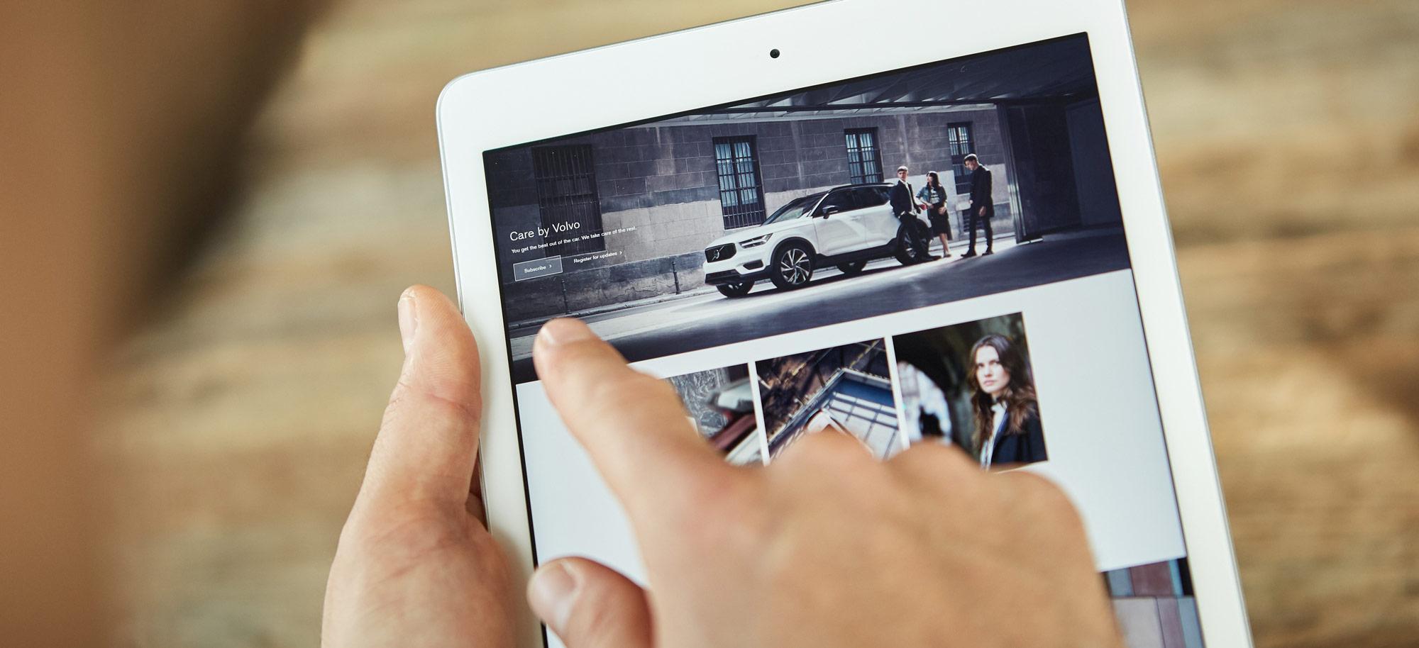 """Volvo (""""Care by Volvo""""), Seat (""""Conquar"""") oder Volkswagen (""""Abo-a-car"""") gehören zu den markenspezifischen Vorreitern beim Auto-Abo. Foto: Volvo"""
