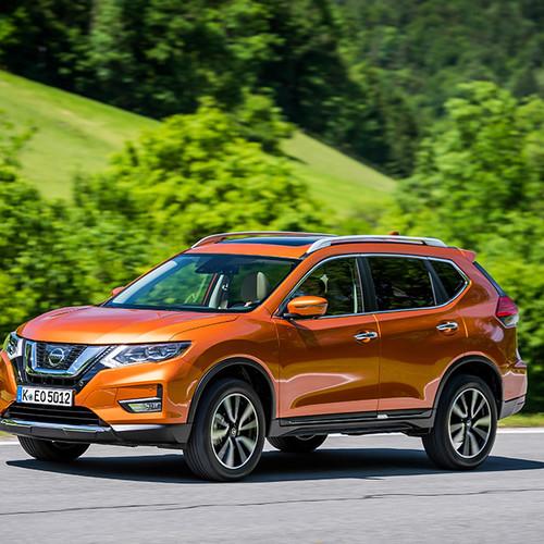 Nissan X-Trail, Frontansicht, T32, orange