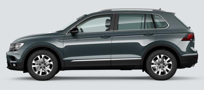 """Besonders die speziellen Leichtmetallräder vom Typ """"Dublin"""" betonen die Optik des Tiguan-Sondermodells """"IQ.Drive""""."""