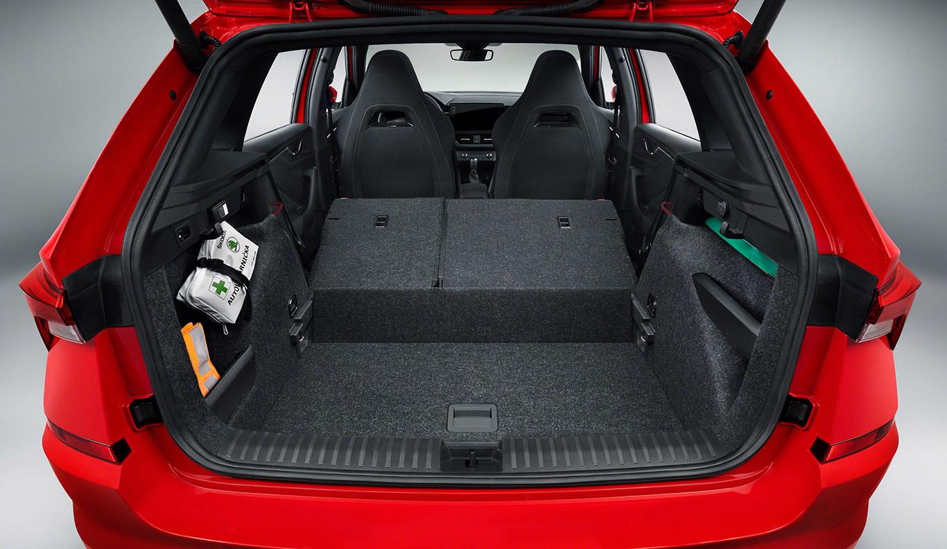 Der Kofferraum des Skoda Kamiq