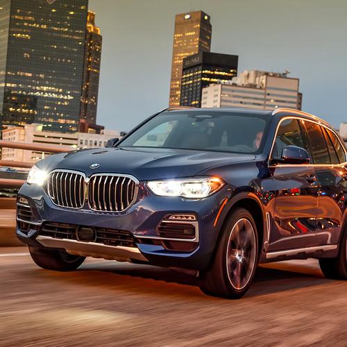 BMW X5 2018, Frontansicht, Scheinwerfer