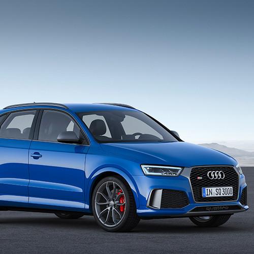 Seitenansicht eines Audi RS Q3