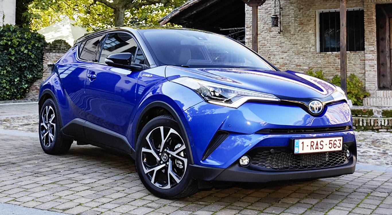 Beliebtes Modell: Der dynamische Crossover Toyota C-HR kann auch deutsche Kunden von sich überzeugen.