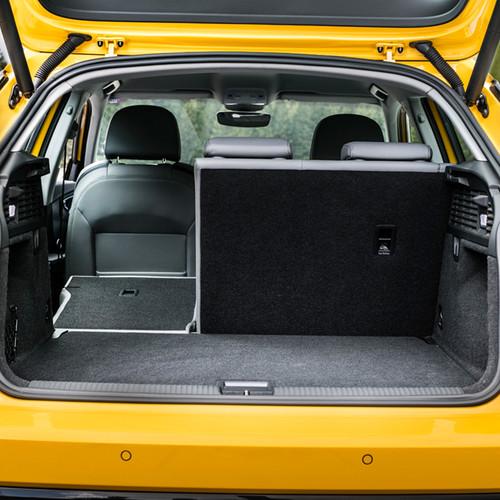 Kofferraum Audi Q2.