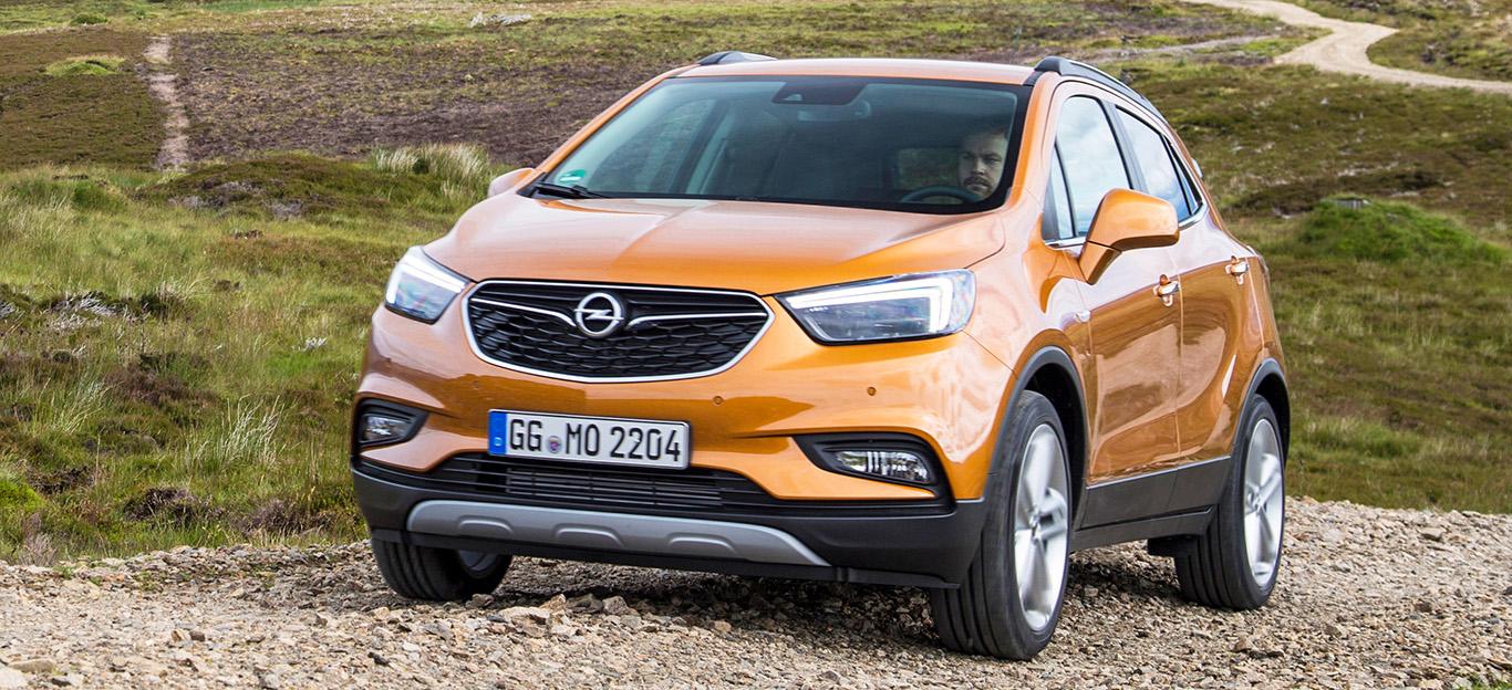 Opel Mokka X, Frontansicht, beige