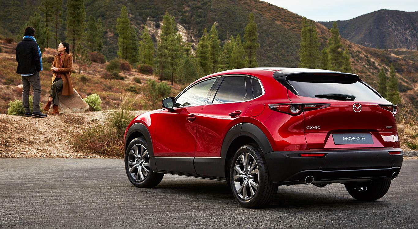 Eleganter SUV-Neuzugang für die europäische Angebotspalette: Mazda stellte in Genf den CX-30 vor.
