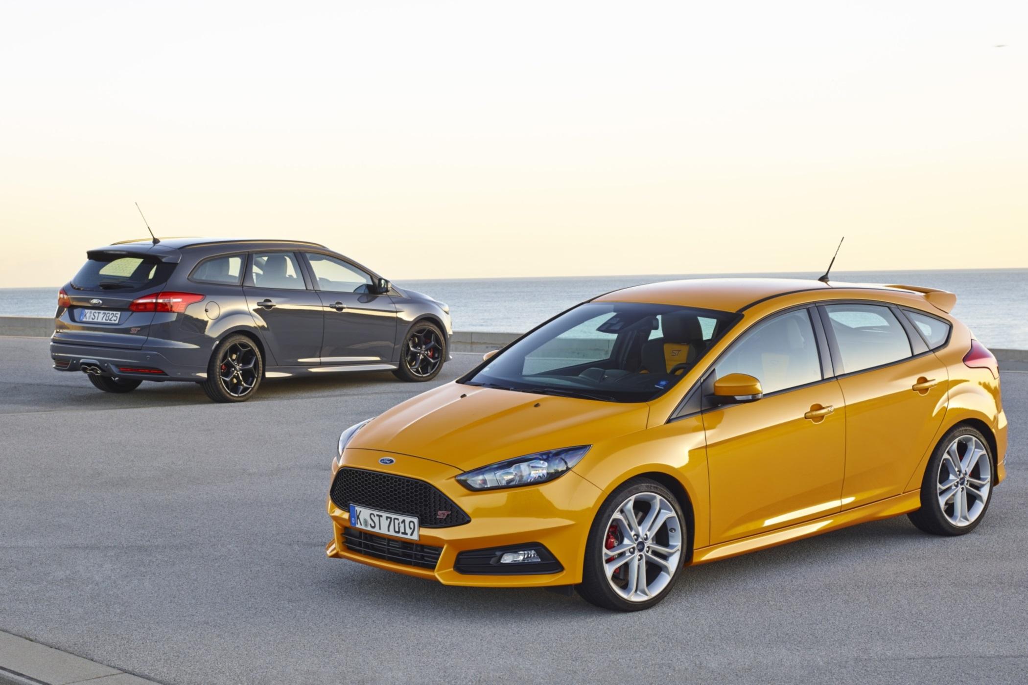 Gefragte Kompaktsportler auf dem Gebrauchtwagenmarkt: der seit 2012 hergestellte Ford Focus ST der dritten Generation.