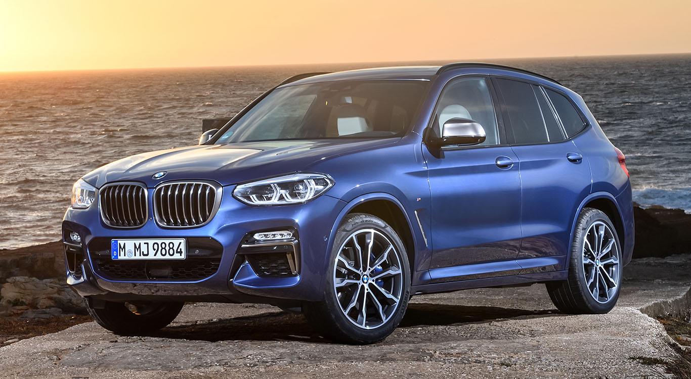 Die Speerspitze der Modellreihe X3: das Sport-SUV BMW X3 M40i für mindestens 68.700 €.