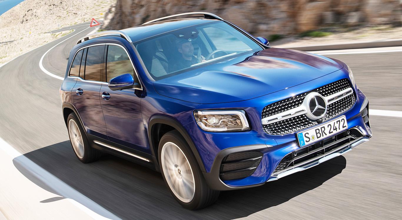 Das neue SUV Mercedes GLB rollt mit Technik der kompakten A- und B-Klasse an den Start.