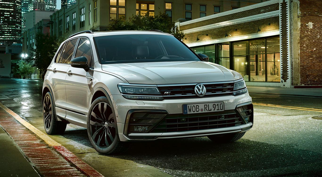 """Der VW Tiguan im """"Black Style""""-Look."""