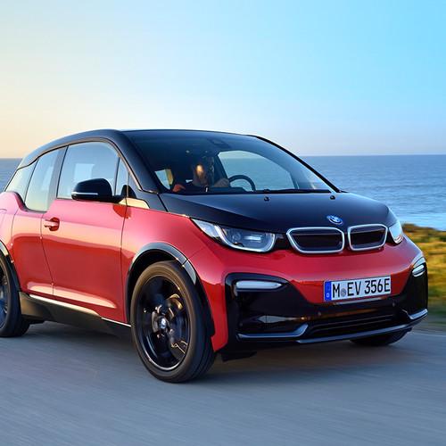 BMW i3s 2018 Fahraufnahme Frontansicht