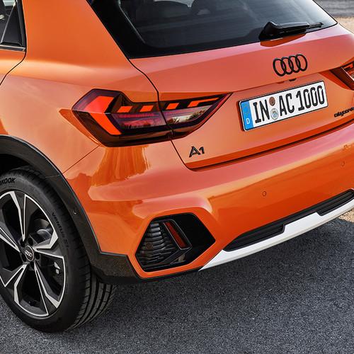 Audi A1 citycarver, Heckpartie, Detail