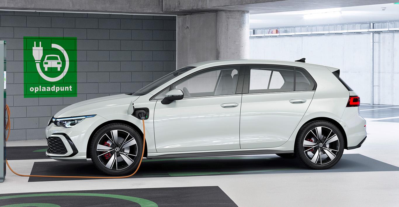 Der neue Volkswagen Golf GTE.