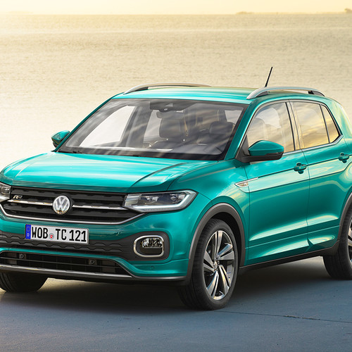 VW T-Cross, City-SUV, Frontansicht