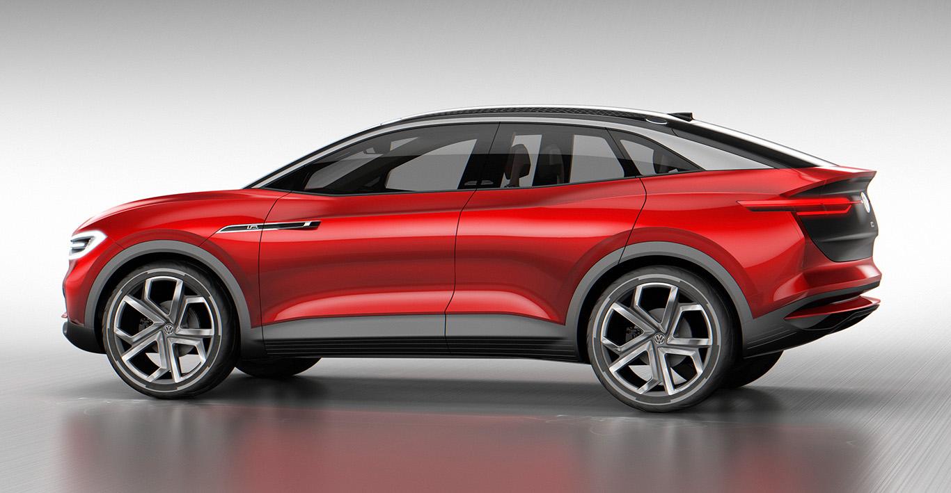 Das Concept Car zum Elektro-SUV VW ID. CROZZ. Das Lifestyle-SUV soll 2020 an den Marktstart gehen.
