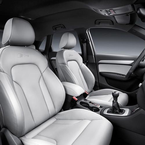 Audi Q3, Innenansicht, Sitze im Cockpit