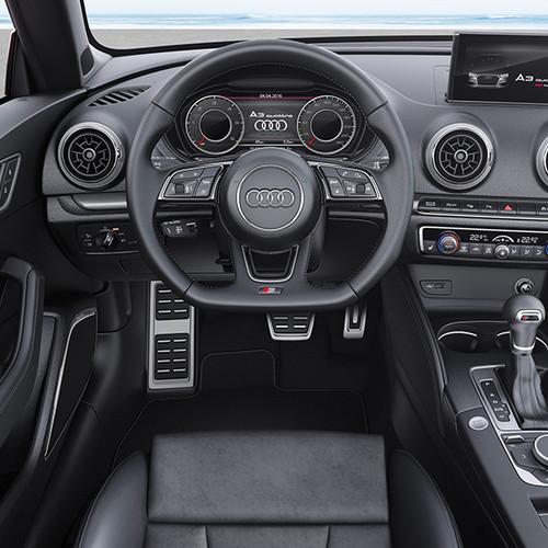 Audi A3 Cabrio, Innenansicht, Cockpit