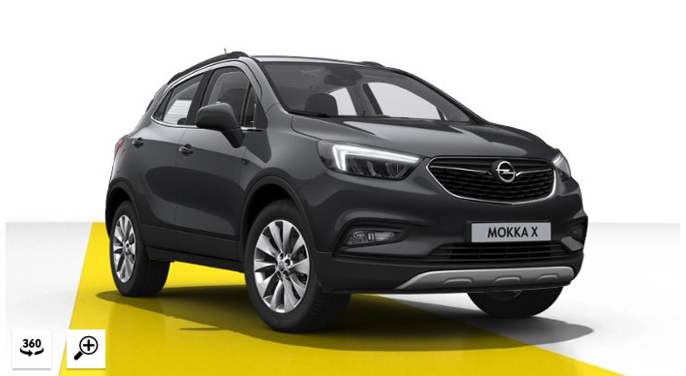 """Die Lackierung """"Graphit Grau in Metallic"""" kostet im Opel-Konfigurator einen Aufpreis in Höhe von 595 Euro. Macht nichts! Nehmen wir!"""