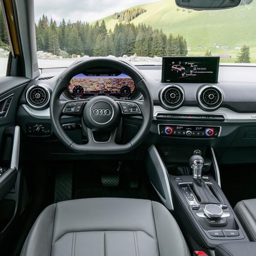 Innenraum Audi Q2.
