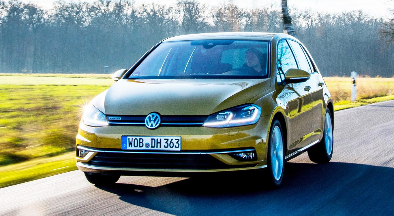 Die siebte Generation des Bestsellers VW Golf wird nicht mehr allzu lange produziert. Noch 2019 soll das Nachfolgemodell Golf 8 vorgestellt werden.
